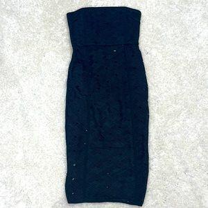 MISHA Strapless Dress Sz 8